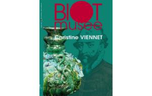 Carton exposition Christine Viennet Musée de Biot