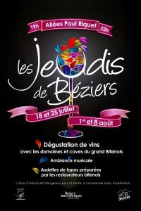 Les Jeudis de Béziers Degustation de vins du domaine de Raissac