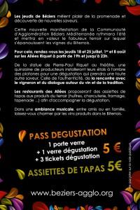 Informations sur Les Jeudis de Béziers dont Raissac est partenaire